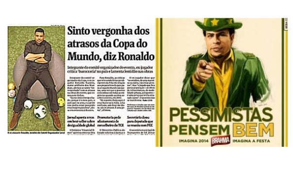 El discurso de Ronaldo ha cambiado en los últimos días.